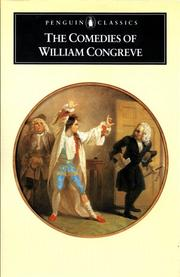 William Congreve by William Congreve