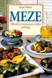 Cover of: Meze | Anne Wilson