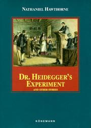 Cover of: Dr. Heidegger's Experiment and Other Stories