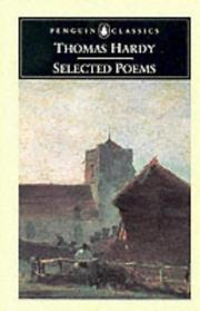 Cover of: Selected Poems (Penguin Classics) by Thomas Hardy