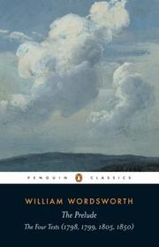 Cover of: The Prelude | William Wordsworth