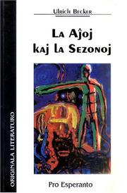 Cover of: La Ajxoj kaj la Sezonoj (Stories in Esperanto)