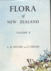 Cover of: Flora of New Zealand | Moore, Lucy B.; Edgar, Elizabeth