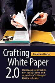 Cover of: Crafting White Paper 2.0 | Jonathan Kantor