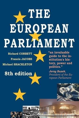 The European Parliament by Michael Shackleton Richa Francis Jacobs