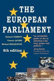 Cover of: The European Parliament | Michael Shackleton Richa Francis Jacobs