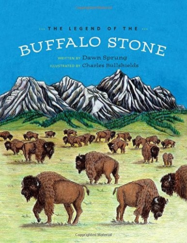 The Legend of Buffalo Stone by Dawn Sprung, Charles Bullshields