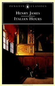 Italian Hours by Henry James, Jr.