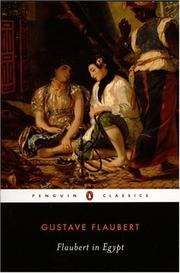 Cover of: Flaubert in Egypt