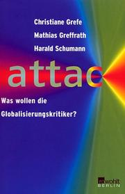 Cover of: Attac | Christa Reinig
