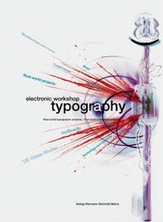 Cover of: Electronic workshop typography |