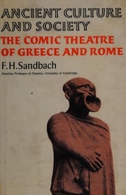 The comic theatre of Greece and Rome by F. H. Sandbach