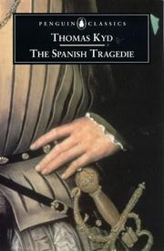 Cover of: Spanish Tragedie