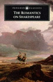 Cover of: The Romantics on Shakespeare