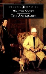 Cover of: The antiquary | Sir Walter Scott