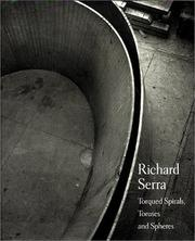 Richard Serra by Hal Foster, Richard Serra