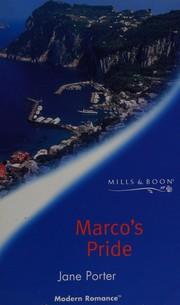 Marco's Pride (Romance)