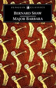 Cover of: Major Barbara | George Bernard Shaw