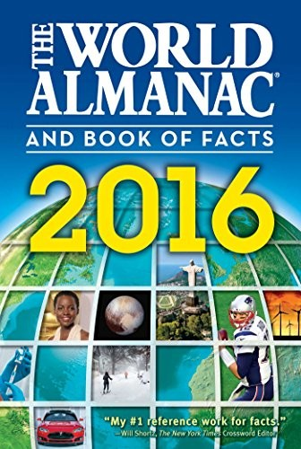 The World Almanac and Book of Facts 2016 by Sarah Janssen