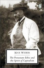 Cover of: The Protestant Ethic and the Spirit of Capitalism by Max Weber