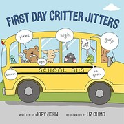 Cover of: First Day Critter Jitters