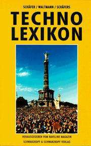 Cover of: Techno-Lexikon