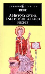 Cover of: A History of the English Church and People (Classics)
