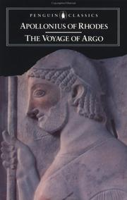 Cover of: The Voyage of Argo | Apollonius Rhodius