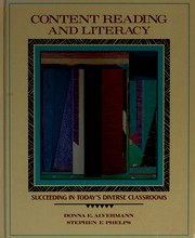 Cover of: Content reading and literacy | Donna E. Alvermann
