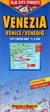 Cover of: Venice City Streets |