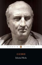 Cover of: Selected Works (Penguin Classics) | Cicero