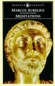 Cover of: Meditations (Penguin Classics) by Marcus Aurelius