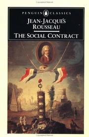 Cover of: The Social Contract (Penguin Classics) | Jean-Jacques Rousseau