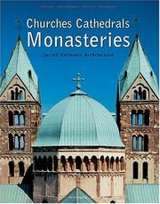 Cover of: Churches, Cathedrals and Monasteries