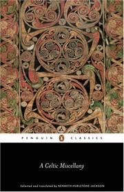 Cover of: A Celtic miscellany