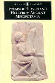 Cover of: Poems of heaven and hell from Ancient Mesopotamia