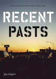 Cover of: Recent pasts