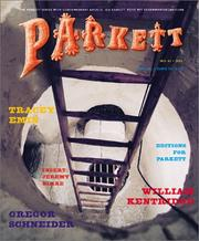Cover of: Parkett #63 | Tracey Emin