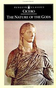 Cover of: The nature of the gods. | Cicero