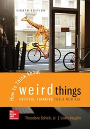 Cover of: Looseleaf for How to Think About Weird Things