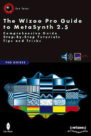 Cover of: The Wizoo Pro Guide to MetaSynth 2.5 | Len Sasso