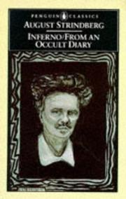 Cover of: Inferno and From an occult diary | August Strindberg