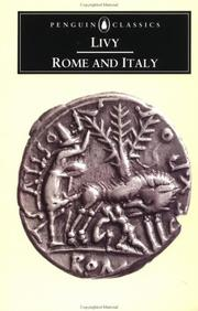 Cover of: Rome and Italy: books VI-X of The History of Rome from its foundation