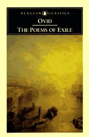 Cover of: The poems of exile: Tristia and the Black Sea letters