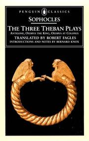 Cover of: The Three Theban Plays (Penguin Classics) | Sophocles