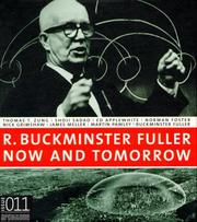 Cover of: Fuller R. Buckminster - Now and Tomorrow