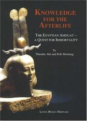 Cover of: Knowledge for the Afterlife