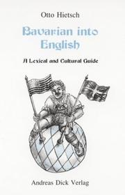 Cover of: Bavarian into English