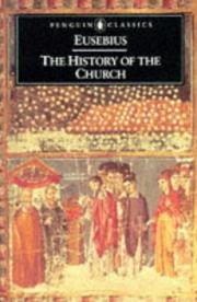 Cover of: The  history of the church from Christ to Constantine | Eusebius of Caesarea