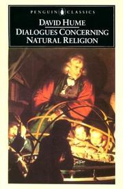 Cover of: Dialogues concerning natural religion | David Hume